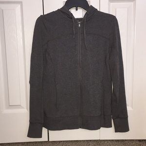 Tek Gear DryTek Gray Zip Up Hoodie